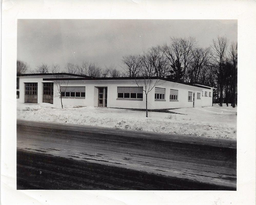 Gillett City hall in 1953